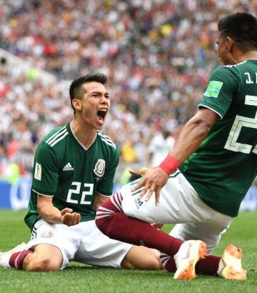 ¡Se pudo! México le ganó a Alemania en sudebut