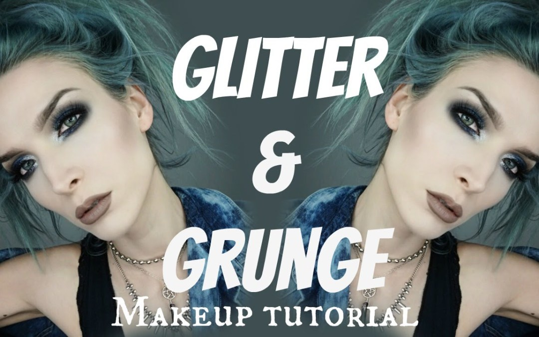 Glitter & Grunge | NYE Makeup Tutorial