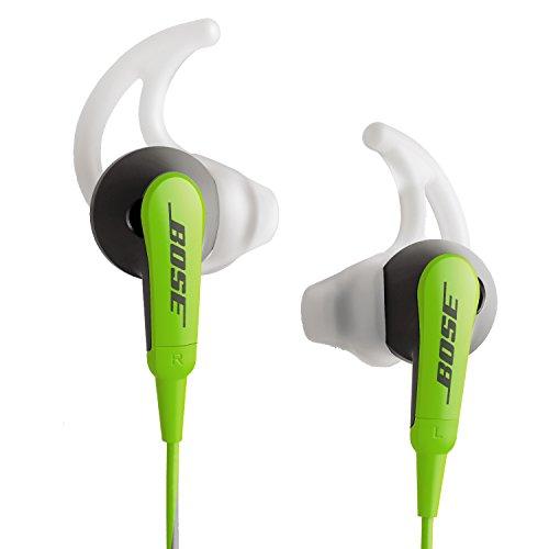Bose SoundSport In-Ear Headphones for iOS Models Green