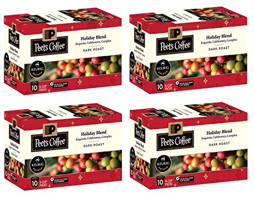 Peet's Coffee Holiday Blend Limited Edition K Cup Coffee for