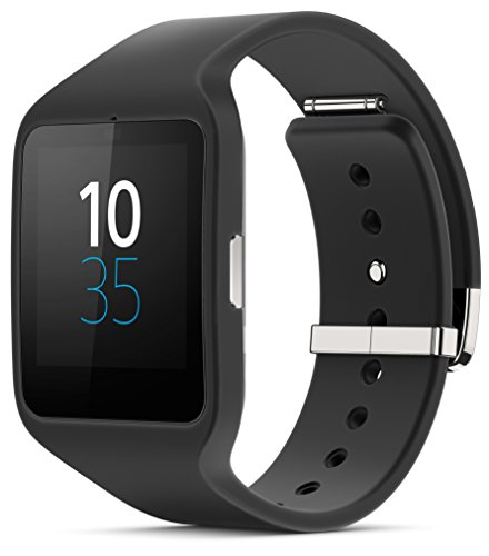 Sony SWR50 1.6-Inch Transflective Display SmartWatch 3 for Android wear Android 4.3 and onwards – Black
