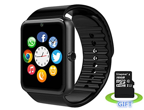 Smart WatchLuluking YG8 plus Sweatproof Smart Watch Phone for Android Samsung S5 S6 S7 Note 4 5;HTC Sony LG and iPhone 5 5S 6 6 Plus 7