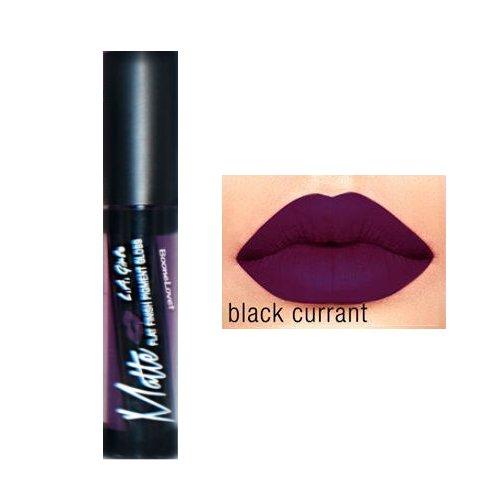 L.A. Girl Matte Pigment Lip Gloss 846 Black Currant