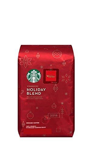 Starbucks Holiday Blend 2016 Medium Roast Ground 10oz/283g