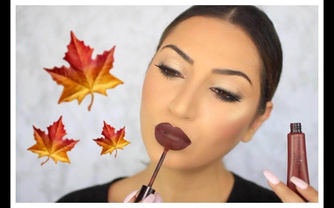 Easy Drugstore Fall Makeup Tutorial 2017