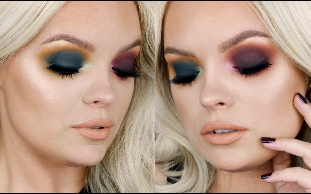 Colorful Fall Makeup Tutorial – Anastasia Subculture Palette