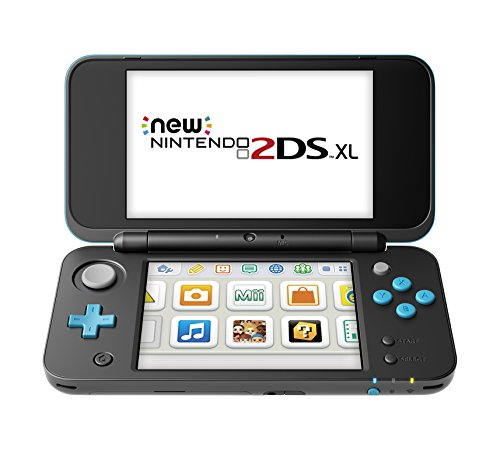 Nintendo New 2DS XL – Black + Turquoise