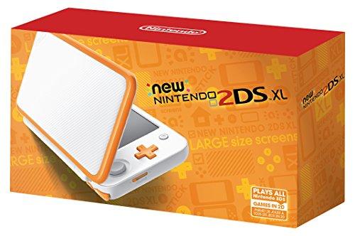 Nintendo New 2DS XL – White + Orange