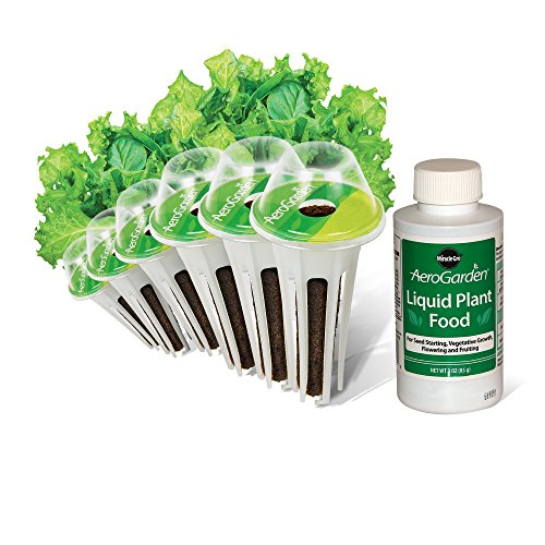 AeroGarden Salad Greens Mix Seed Pod Kit (6-Pod)
