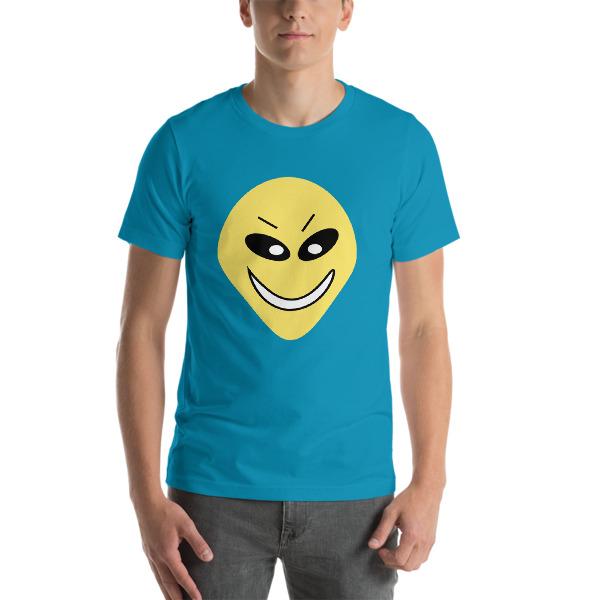 mockup 76f75a89 - Cute Alien Short-Sleeve Unisex T-Shirt