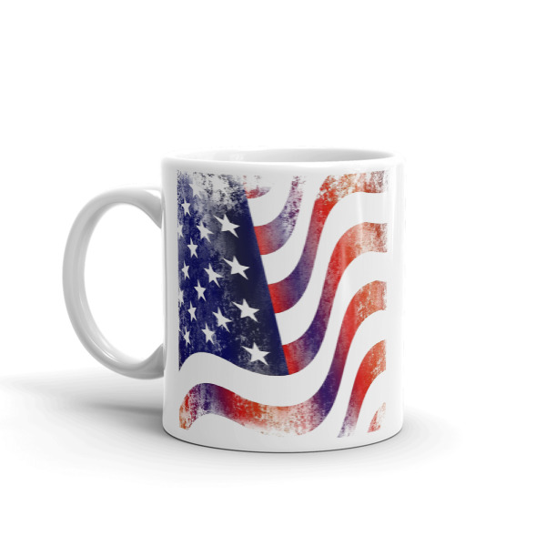 mockup 6bcb4db1 - American Flag Mug (Textured Grunge)