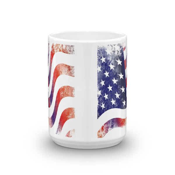 mockup 60d39e29 - American Flag Mug (Textured Grunge)