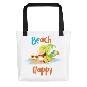 Beach Happy Tote Bag