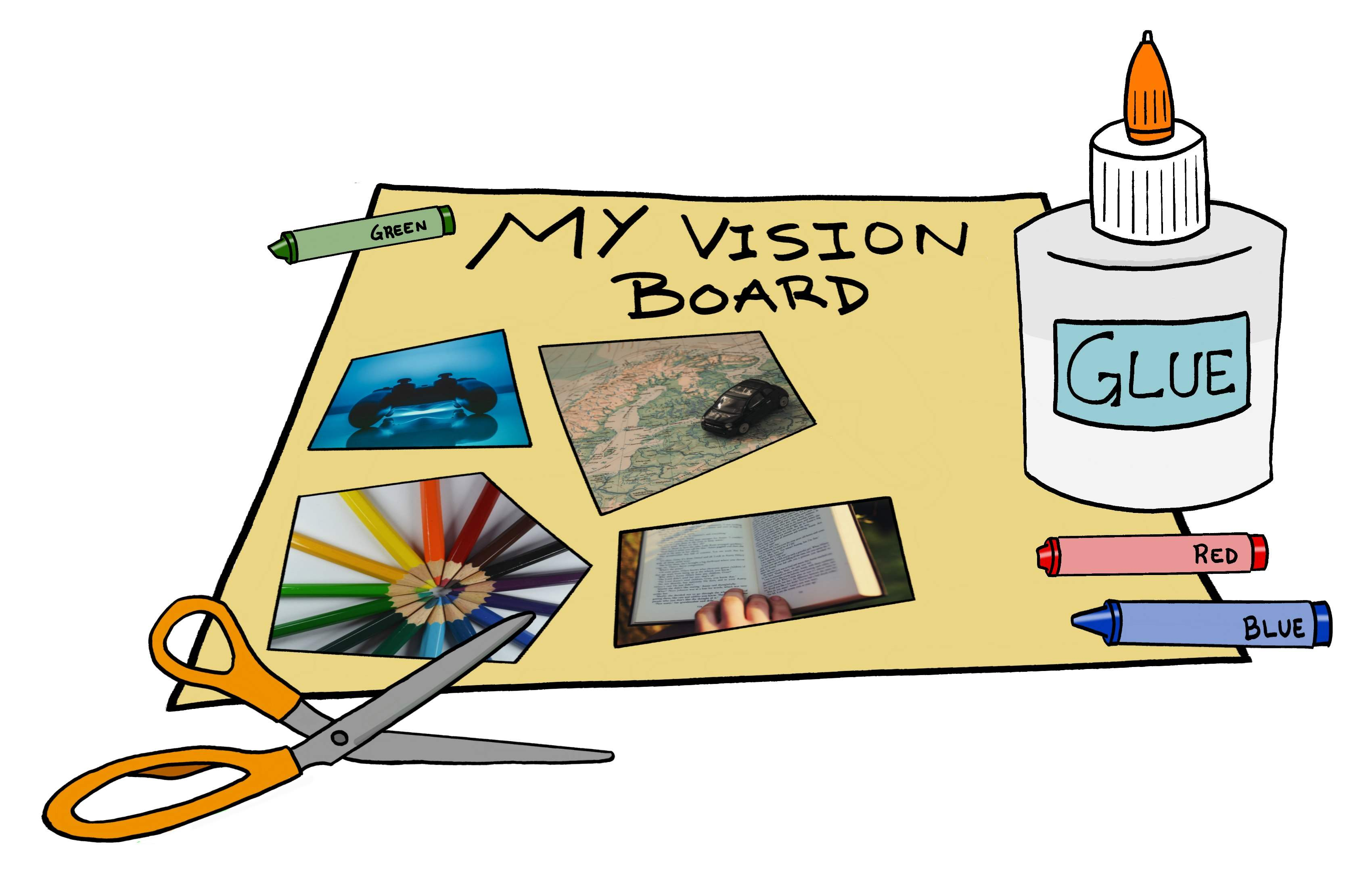 Create A Vision Board And Get Your Goals On Paper