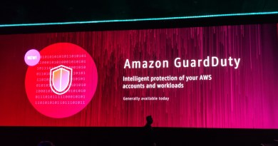 AWS Jumps Headfirst into the Cybersecurity Market with GE, Others