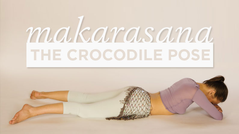 Makarasana The Crocodile Pose Yoga International
