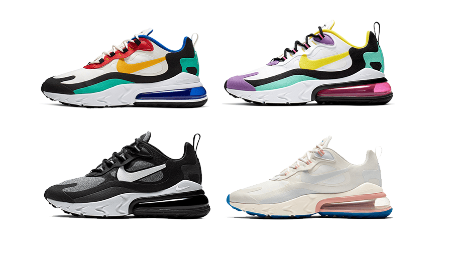 Introducing The Nike Air Max 270 React Yomzansi