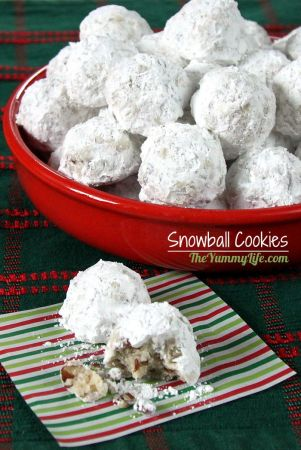 Traditional Snowball Cookies Snowball Cookies  A favorite traditional Christmas cookie in the U S  and  also loved around