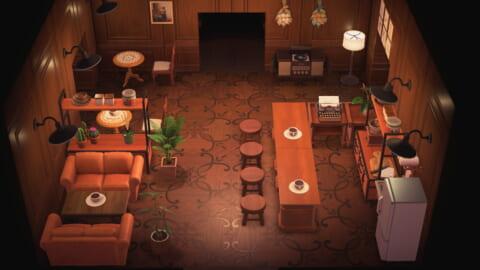 あつ 森 喫茶店