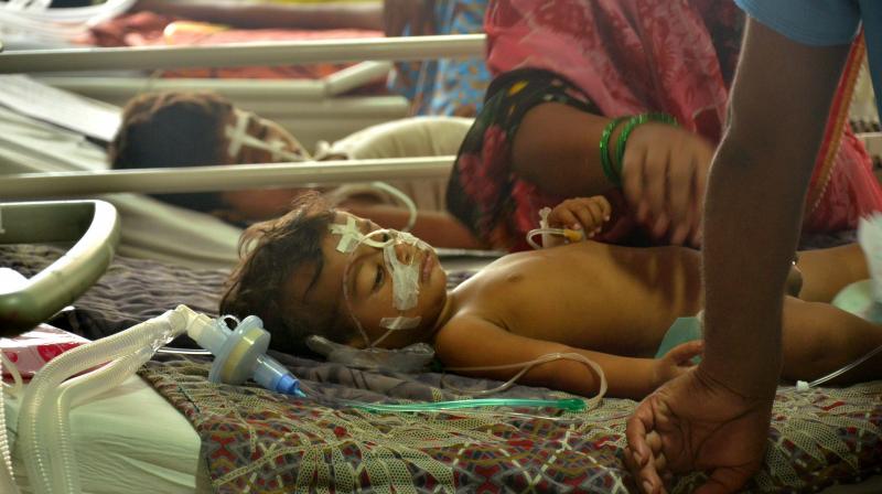 BRD, Infants Died, Gorakhpur, Uttar Pradesh