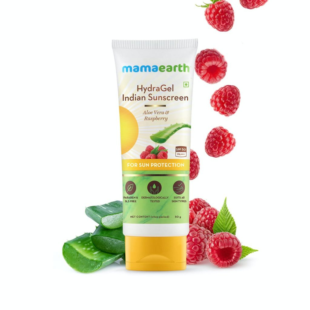 Mamaearth sunscreen