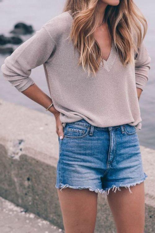 Resultado de imagen de outfit winter shorts