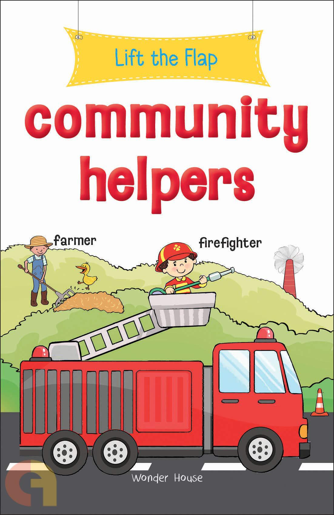 Lift The Flap Community Helpers Buy Tamil English Books Online Commonfolks