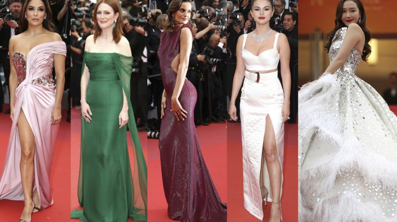 Top Actors Singers From Around The World Graced The Prestigious Cannes Red Carpet On Day