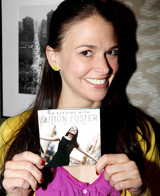 Sutton on CD! Tony Nominee Foster Shows Off Her Fabulous New Album at Barnes & Noble