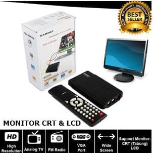 TV Tunner TV Tuner Gadmei 3810 For Monitor CRT LCD - Hitam