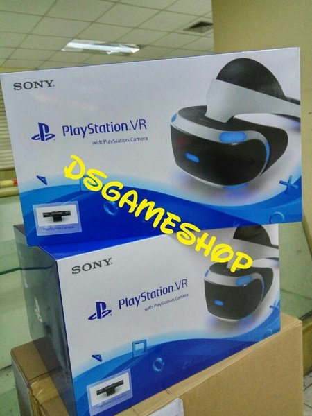 PLAYSTATION VR BUNDLE PAKET CAMERA KAMERA PS4