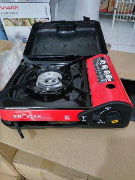 kompor gas portable PROGAS 2IN1 SNI original