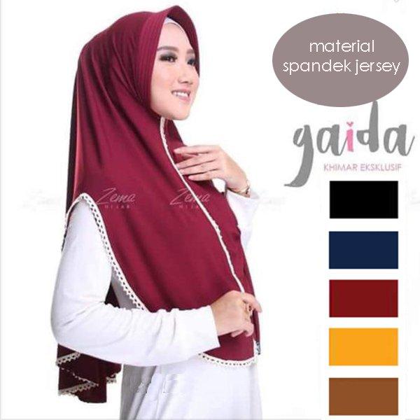 Gambar Untuk Hijab Instan Gaida Renda