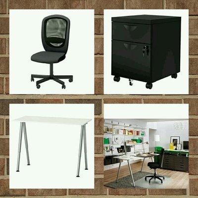 Paket Super Office Desk Set Ikea Promo Terbatas Free Ongkir Jakarta Di Lapak Ikea Live Bukalapak