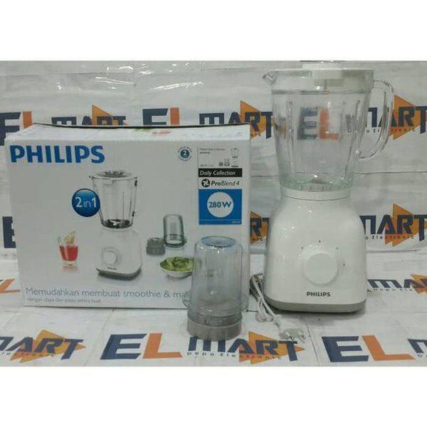 Philips blender pro blend 4 HR2106 blender philips gelas kaca