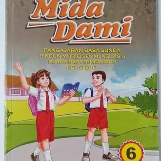 Kami mengulas tentang isi buku bahasa sunda kelas 4 mida dami. Jual Buku Basa Sunda Mida Dami Kelas 6 Sd Di Lapak Toko Buku Pendidikan Bukalapak