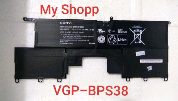 Baterai Laptop Sony VAIO Pro 13 SVP1322YCW SVP13229PW SVP13213CW SVP13218PW SVP132A1CL SVP11217PG SVP11217SCS VGP-BPS38 BPS38
