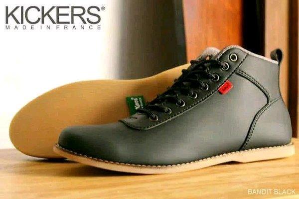 Sepatu Pria KICKERS Brodo Casual Premium Leather