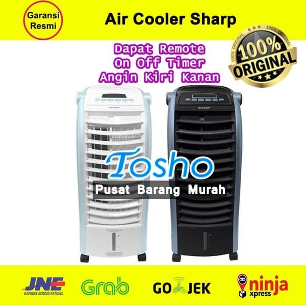Sharp Air Cooler PJA36 TY Kipas Angin AC Remote Pendingin Portable Ice Murah