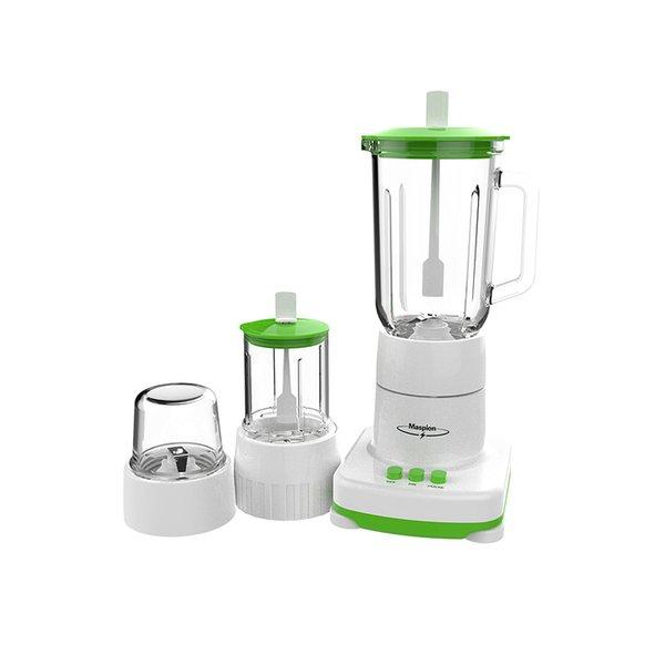 Blender & Juicer Blender Clear Glass Container -1 Liter- 3in1 Maspion MT-1214