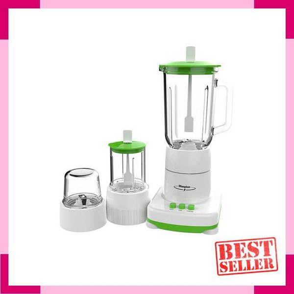 Blender Clear Glass Container -1 Liter- 3in1 Maspion MT-1214