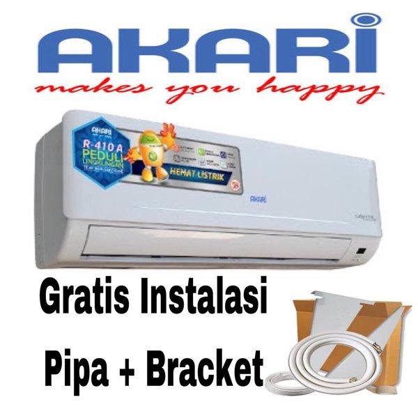 Ac Akari low watt free pemasangan dan Pipa 5mtr