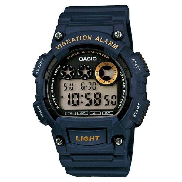Jam tangan pria cowok casio W-735H original garansi resmi 1 tahun anti air water proof resistant