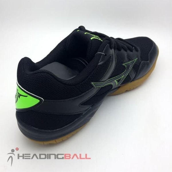 Sepatu Volley Mizuno Original Cyclone Speed BlackGreenGecko V1GA178010  Limited 7c598abd02