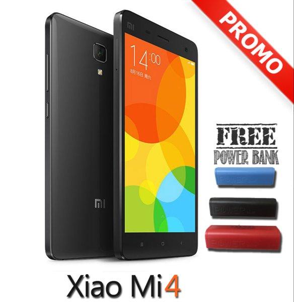 XIAOMI MI4 LTE BLACK RAM 2GB INTERNAL 16GB - GARANSI 1 TH