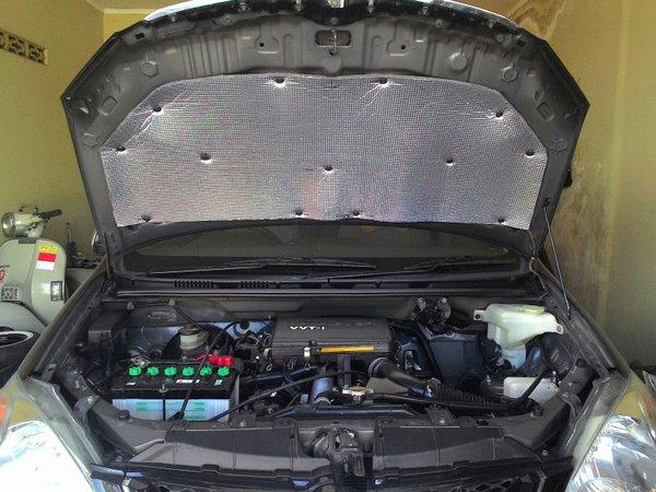 Peredam panas  peredam suara  thermal protector kap mesin AVANZA XENIA