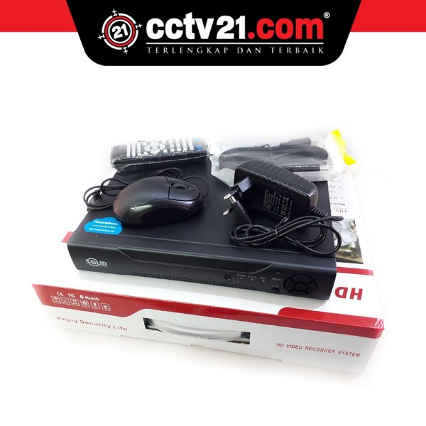 Promo DVR 8 Ch SOLID Full HD Made in Taiwan Garansi Service 2Th Sparepart 1T