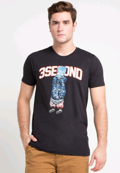 Kaos 3Second Original F10002