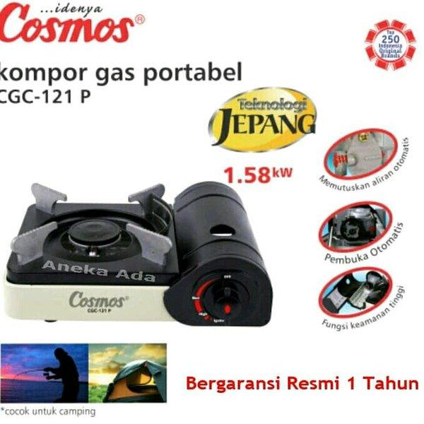 Cosmos Kompor Travel Portable -CGC 121P