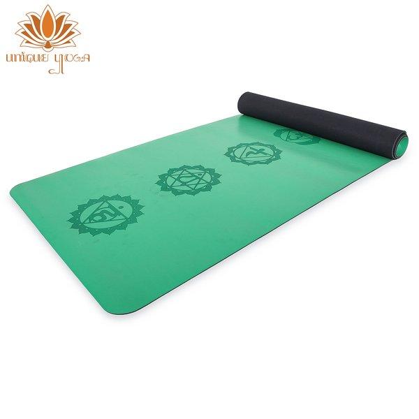 New Matras Yoga Premium 7 Chakra Yoga Mat Hijau Terbaru Kualitas Lululemon Liforme